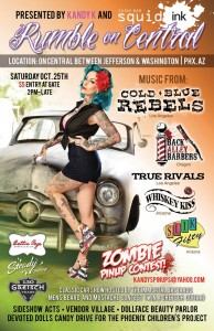Rumble On central | Saturday October 25, 2014 | Phoenix, AZ | Cold Blue Rebels